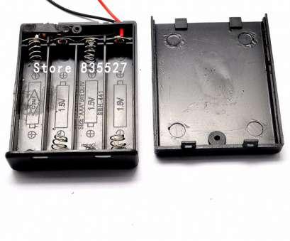 what gauge wire for 6 volt battery 6 Volt battery Holder Four, Battery, Case With ON /, power switch, cover, AAA Black omniseal-in Connectors from Lights & Lighting on What Gauge Wire, 6 Volt Battery Creative 6 Volt Battery Holder Four, Battery, Case With ON /, Power Switch, Cover, AAA Black Omniseal-In Connectors From Lights & Lighting On Images