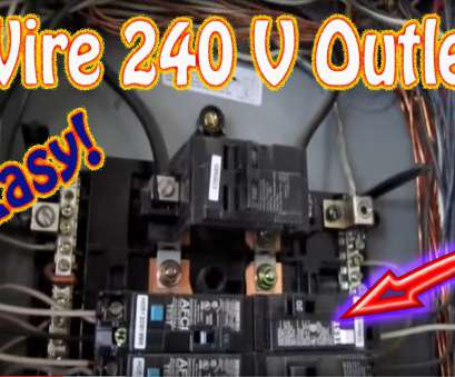 what gauge wire do i need for 220 volts How to Wire a, Volt Outlet -, Install a, Volt Outlet, NEMA 6-20 20, Circuit Breaker HD What Gauge Wire Do I Need, 220 Volts Perfect How To Wire A, Volt Outlet -, Install A, Volt Outlet, NEMA 6-20 20, Circuit Breaker HD Collections