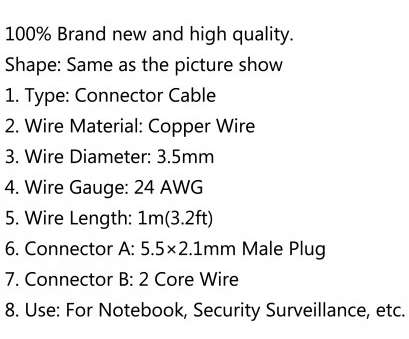 what is 24 gauge wire in mm Shape: Same as, picture show 1. Type: Connector Cable 2. Wire Material: Copper Wire 3. Wire Diameter: 3.5mm 4. Wire Gauge: 24 AWG 11 Popular What Is 24 Gauge Wire In Mm Solutions