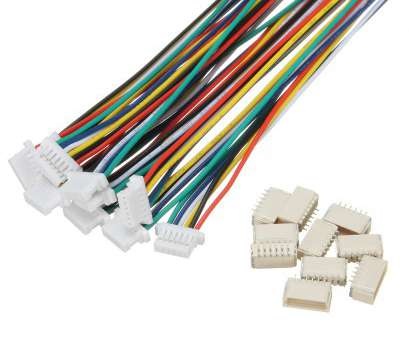 What Is 6 Gauge Wire In Mm Simple Excellway® 20Pcs Mini Micro, 1.0Mm SH 6-Pin Connector Plug With Wires Images