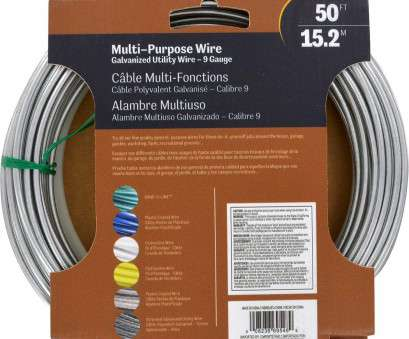what is 8 gauge wire used for Amazon.com: Hillman 122062 Galvanized Solid Wire 9 Gauge, 50 foot coil: Home Improvement What Is 8 Gauge Wire Used For Popular Amazon.Com: Hillman 122062 Galvanized Solid Wire 9 Gauge, 50 Foot Coil: Home Improvement Images