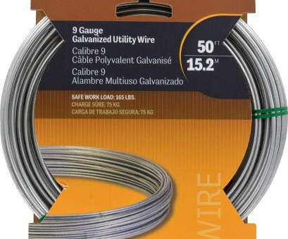 what is 8 gauge wire used for Amazon.com: Hillman 122062 Galvanized Solid Wire 9 Gauge, 50 foot coil: Home Improvement What Is 8 Gauge Wire Used For Brilliant Amazon.Com: Hillman 122062 Galvanized Solid Wire 9 Gauge, 50 Foot Coil: Home Improvement Images