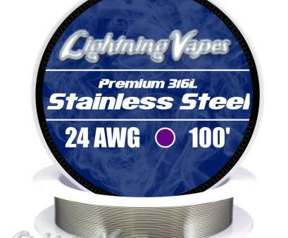 what is 8 gauge wire used for Stainless Steel Wire 316L, Lightning Vapes What Is 8 Gauge Wire Used For Best Stainless Steel Wire 316L, Lightning Vapes Photos