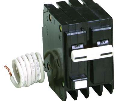 What Size Electrical Wire, 60, 220V Fantastic Eaton BR 60, 2 Pole Circuit Breaker-BR260 -, Home Depot Collections
