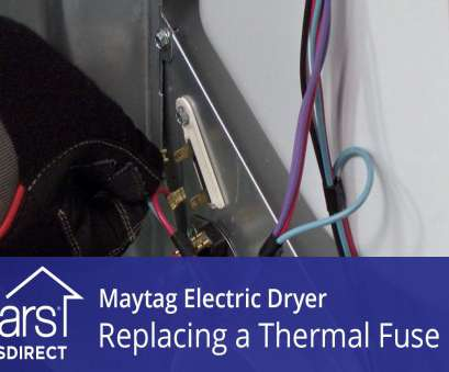 what size electrical wire to use for a dryer How to Replace a Maytag Electric Dryer Thermal Fuse What Size Electrical Wire To, For A Dryer Best How To Replace A Maytag Electric Dryer Thermal Fuse Pictures