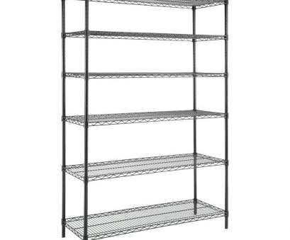 wheels for wire shelving units Amazing Wire Shelving Unit, X 6 Tier 48 In 18 72 Black, Y, The Home Depot Wheels, Wire Shelving Units Best Amazing Wire Shelving Unit, X 6 Tier 48 In 18 72 Black, Y, The Home Depot Collections