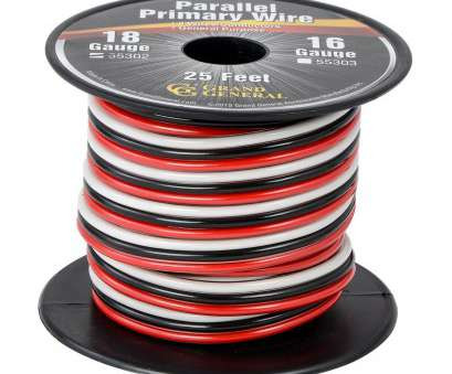where to buy 18 gauge electrical wire 18 GA Parallel Primary 3 Wire Roll, Grand General, Auto Parts Where To, 18 Gauge Electrical Wire Best 18 GA Parallel Primary 3 Wire Roll, Grand General, Auto Parts Collections