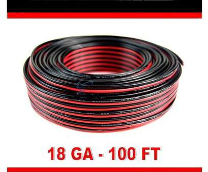 where to buy 18 gauge electrical wire Amazon.com: Audiopipe 100' Feet 18 GA Gauge, Black 2 Conductor Speaker Wire Audio Cable: Electronics Where To, 18 Gauge Electrical Wire Creative Amazon.Com: Audiopipe 100' Feet 18 GA Gauge, Black 2 Conductor Speaker Wire Audio Cable: Electronics Collections