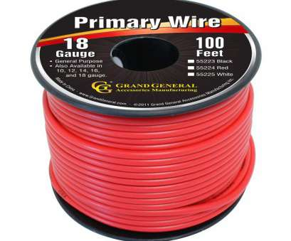 where to buy 18 gauge electrical wire Amazon.com: Grand General 55224, 100' 18-Gauge Primary Wire: Automotive Where To, 18 Gauge Electrical Wire Top Amazon.Com: Grand General 55224, 100' 18-Gauge Primary Wire: Automotive Photos