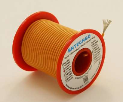 where to buy 18 gauge electrical wire Get Quotations · BNTECHGO 18 Gauge Silicone Wire 50 Feet Spool Orange Soft, Flexible High Temperature Resistant Highly Where To, 18 Gauge Electrical Wire Best Get Quotations · BNTECHGO 18 Gauge Silicone Wire 50 Feet Spool Orange Soft, Flexible High Temperature Resistant Highly Pictures