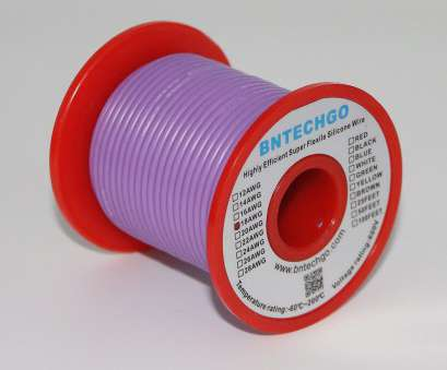 where to buy 18 gauge electrical wire Get Quotations · BNTECHGO 18 Gauge Silicone Wire 50 Feet Spool Purple Soft, Flexible High Temperature Resistant Highly Where To, 18 Gauge Electrical Wire Professional Get Quotations · BNTECHGO 18 Gauge Silicone Wire 50 Feet Spool Purple Soft, Flexible High Temperature Resistant Highly Collections