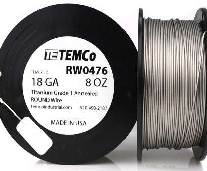 where to buy 18 gauge electrical wire TEMCo Titanium Wire 18 Gauge 25 Ft Surgical Grade 1 Resistance, ga, Amazon.com Where To, 18 Gauge Electrical Wire Fantastic TEMCo Titanium Wire 18 Gauge 25 Ft Surgical Grade 1 Resistance, Ga, Amazon.Com Solutions