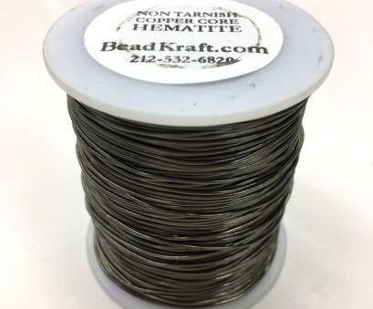 where to buy 24 gauge wire 24 Gauge,, Tarnish Hematite, Metal, Colored Copper Craft Wire, 1 LB (800 Feet) 8 Professional Where To, 24 Gauge Wire Pictures