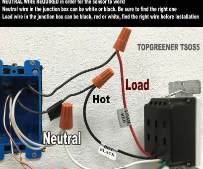 which electrical wire is neutral TOPGREENER TSOS5-W requires a neutral wire!, wires in your junction, may be colored differently. Always indicate which wire in your junction, is Which Electrical Wire Is Neutral Popular TOPGREENER TSOS5-W Requires A Neutral Wire!, Wires In Your Junction, May Be Colored Differently. Always Indicate Which Wire In Your Junction, Is Photos