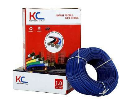 which electrical wire to use KC, 1 Sq mm Copper, Insulated Wire, 90M(Blue): Amazon.in: Home & Kitchen Which Electrical Wire To Use Best KC, 1 Sq Mm Copper, Insulated Wire, 90M(Blue): Amazon.In: Home & Kitchen Solutions