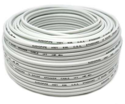 which speaker wire gauge should i use 12 Gauge, Feet White Speaker Wire, Cable Copper Clad, Stereo Audiopipe Which Speaker Wire Gauge Should I Use Fantastic 12 Gauge, Feet White Speaker Wire, Cable Copper Clad, Stereo Audiopipe Solutions