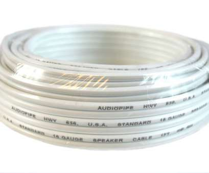 which speaker wire gauge should i use 16 Gauge 25 Feet White Speaker Wire, Cable Copper Clad, Audio Stereo Which Speaker Wire Gauge Should I Use Top 16 Gauge 25 Feet White Speaker Wire, Cable Copper Clad, Audio Stereo Pictures