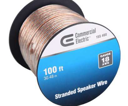 which speaker wire gauge should i use Commercial Electric, ft. 18-Gauge Stranded Speaker Wire Which Speaker Wire Gauge Should I Use New Commercial Electric, Ft. 18-Gauge Stranded Speaker Wire Collections