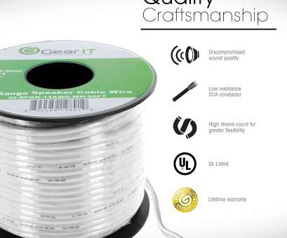 which speaker wire gauge should i use GearIt 16-Gauge Speaker Wire (500 Feet/152 Meters) White, Pull, Design Which Speaker Wire Gauge Should I Use New GearIt 16-Gauge Speaker Wire (500 Feet/152 Meters) White, Pull, Design Images