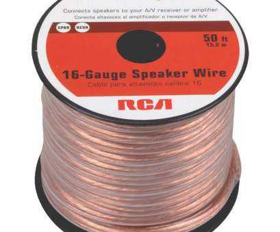 which speaker wire gauge should i use RCA 16-Gauge Speaker Wire, AH1650SR click to zoom Which Speaker Wire Gauge Should I Use Simple RCA 16-Gauge Speaker Wire, AH1650SR Click To Zoom Collections