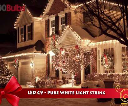 white c9 christmas lights with white wire Christmas Lite, 819016 Pure White, C9 Christmas String Light, 26 Bulbs, YouTube White C9 Christmas Lights With White Wire Creative Christmas Lite, 819016 Pure White, C9 Christmas String Light, 26 Bulbs, YouTube Photos