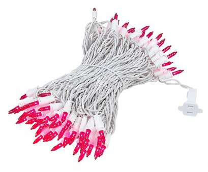 white christmas lights with pink wire ... Picture of, Light, Long White Wire Pink Christmas Mini Lights 12 Nice White Christmas Lights With Pink Wire Solutions