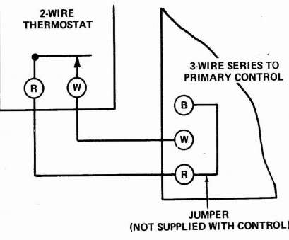 White Rodgers Thermostat Wiring Diagram 1F80-261 Popular