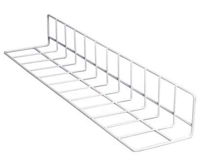 white vinyl wire shelving Win-Holt DIV-24128-EP White Vinyl Coated Wire Case Dividers 24