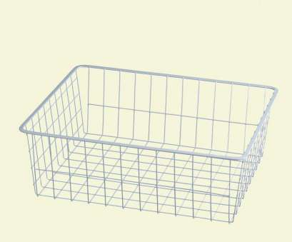 white wire basket shelves ClosetMaid 17, x 7, White Ventilated Wire Drawer 9 Nice White Wire Basket Shelves Images