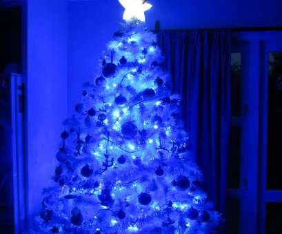 12 Nice White Wire Blue, Christmas Lights Ideas