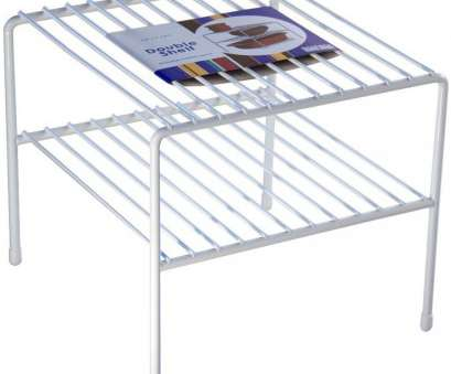 white wire cabinet shelves Double Wire Shelf Image White Wire Cabinet Shelves Cleaver Double Wire Shelf Image Pictures
