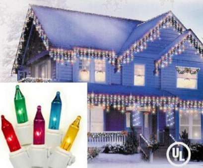 white wire christmas lights 300 Set of, Multi-Colored Mini Icicle Christmas Lights 3