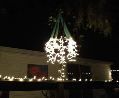 white wire christmas lights clearance My attempt at an outdoor chandelier: 1) Small Hulu hoop $1 dollar tree 2 White Wire Christmas Lights Clearance Cleaver My Attempt At An Outdoor Chandelier: 1) Small Hulu Hoop $1 Dollar Tree 2 Collections