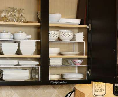 white wire heart shelf Add wire shelves to cabinets to maximize space, your bowls, dishes White Wire Heart Shelf Creative Add Wire Shelves To Cabinets To Maximize Space, Your Bowls, Dishes Galleries