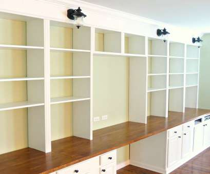 white wire heart shelf Remodelaholic, Build A Wall-to-Wall Built-In Desk, Bookcase White Wire Heart Shelf Cleaver Remodelaholic, Build A Wall-To-Wall Built-In Desk, Bookcase Galleries