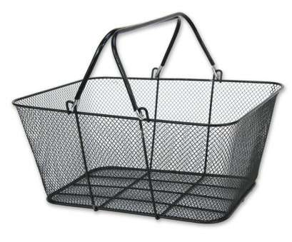 white wire mesh baskets Wire Handle Shopping Baskets Mesh Rubber Coated 12 Basket, Black NEW White Wire Mesh Baskets Cleaver Wire Handle Shopping Baskets Mesh Rubber Coated 12 Basket, Black NEW Ideas
