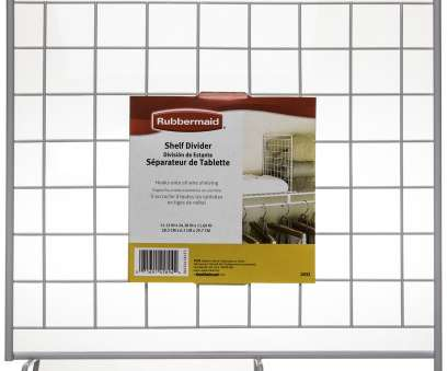 white wire shelf dividers 6 Pack Rubbermaid White Grid Wire Shelf Dividers, Closets Storage White Wire Shelf Dividers Simple 6 Pack Rubbermaid White Grid Wire Shelf Dividers, Closets Storage Pictures