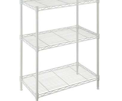 white wire shelf uk Charming White Wire Shelving Unit, X 30 In 24 W 14 3 Shelf Ivory Lowe Home 8 Nice White Wire Shelf Uk Images