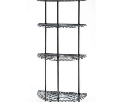 white wire shelf with hooks Expressly HUBERT® Curved Wire Shelving Flint Metal S-Hooks White Wire Shelf With Hooks Practical Expressly HUBERT® Curved Wire Shelving Flint Metal S-Hooks Photos