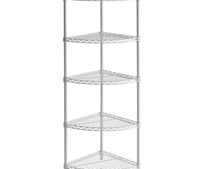 White Wire Shelving Ideas Fantastic White Wire Shelving Unit Metro Corner Shelf Muscle Rack Steel Glass Brackets, Cherry Wood, Ideas Wickes Floating Media Shelves Bedroom, Wall Black Images