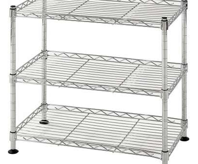 white wire shelving nz Muscle Rack WS181018-C Steel Adjustable Wire Shelving, 46cm, 46cm, 25cm , 120kg Capacity, 3 Shelves, Chrome , 46cm Height, 46cm width, 120kg White Wire Shelving Nz Creative Muscle Rack WS181018-C Steel Adjustable Wire Shelving, 46Cm, 46Cm, 25Cm , 120Kg Capacity, 3 Shelves, Chrome , 46Cm Height, 46Cm Width, 120Kg Photos