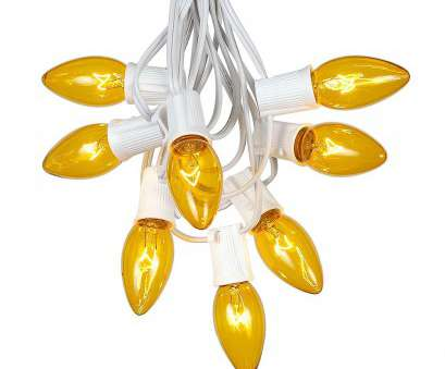 white wire twinkling christmas lights Picture of C9 25 Light String, with Yellow Bulbs on White Wire White Wire Twinkling Christmas Lights New Picture Of C9 25 Light String, With Yellow Bulbs On White Wire Pictures