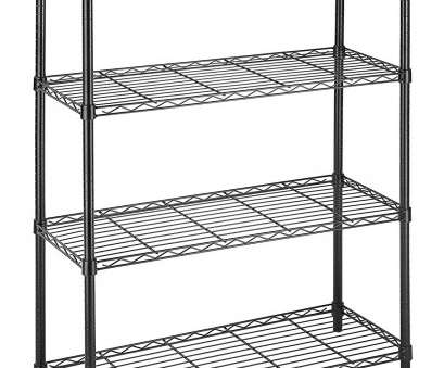 10 Practical Whitmor Black Wire Shelving Solutions