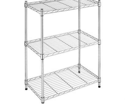 whitmor black wire shelving Whitmor Deluxe Rack Collection 23.15, x 29.9, Supreme Small 3-Tier Shelving in Chrome Whitmor Black Wire Shelving Fantastic Whitmor Deluxe Rack Collection 23.15, X 29.9, Supreme Small 3-Tier Shelving In Chrome Images