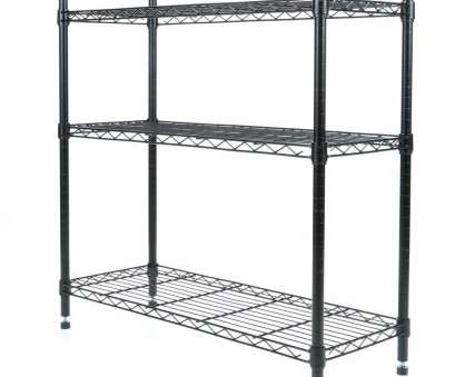 whitmor black wire shelving Whitmor Deluxe Rack Collection 36, x 36, Supreme 3-Tier Shelving in Black Whitmor Black Wire Shelving Perfect Whitmor Deluxe Rack Collection 36, X 36, Supreme 3-Tier Shelving In Black Solutions