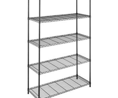 whitmor black wire shelving Whitmor Supreme Shelving Collection 48, x 74, Supreme 5-Tier Shelving in Black Whitmor Black Wire Shelving Creative Whitmor Supreme Shelving Collection 48, X 74, Supreme 5-Tier Shelving In Black Pictures
