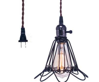 wire a light fixture to a plug Details about Vintage Hanging Wire Cage Pendant Light Fixture Plug Light with On/off Ceiling Wire A Light Fixture To A Plug Fantastic Details About Vintage Hanging Wire Cage Pendant Light Fixture Plug Light With On/Off Ceiling Ideas