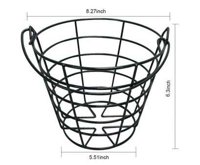 wire basket ball storage GOLDBALL Metal Golf Basket Golf Ball Container Steel Wire Golf Range Buckets Black Color Hold 50 Balls Wire Basket Ball Storage Perfect GOLDBALL Metal Golf Basket Golf Ball Container Steel Wire Golf Range Buckets Black Color Hold 50 Balls Collections
