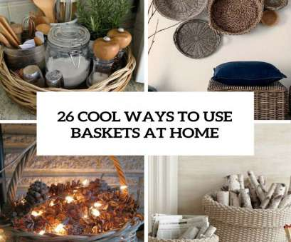 wire basket blanket storage 26 Cool Ways To, Baskets At Home Decor, Shelterness Wire Basket Blanket Storage Best 26 Cool Ways To, Baskets At Home Decor, Shelterness Collections