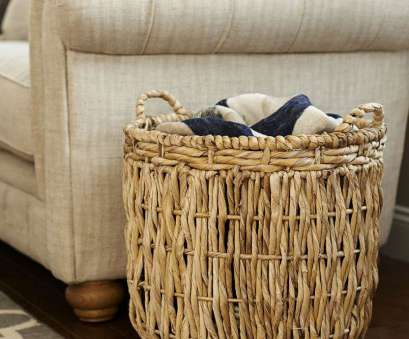 wire basket blanket storage Round Wicker Basket 19 Best Wire Basket Blanket Storage Images